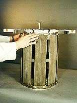 large Mesh round element