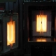 Air hot zone with rod heaters