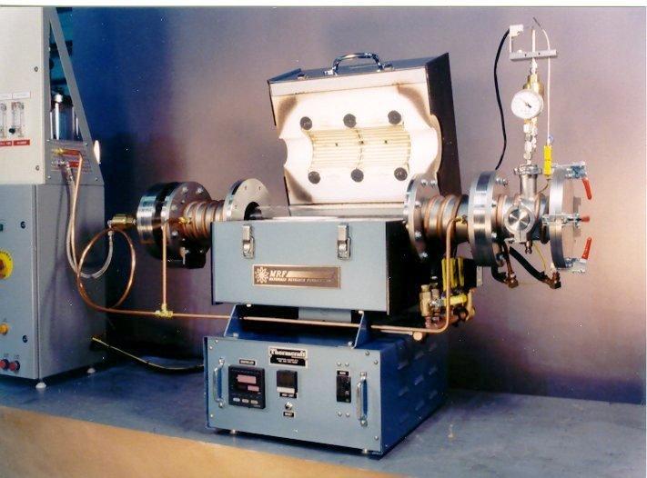 Hydrogen tube furnace