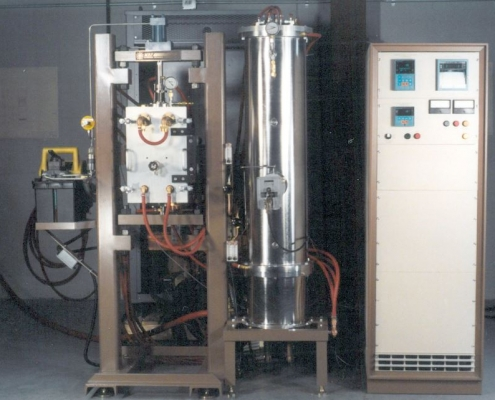 Dual hot press & tube furnace