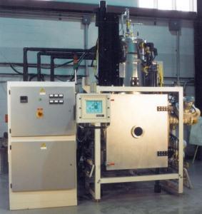 Bottom Loading Sintering Furnace Image