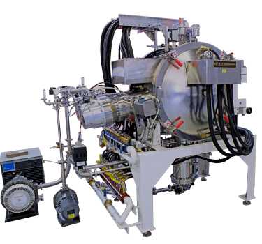 Cryogenic and turbo system vacuum furnace