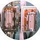 Metallic Hot zone with Tungsten Mesh heating element