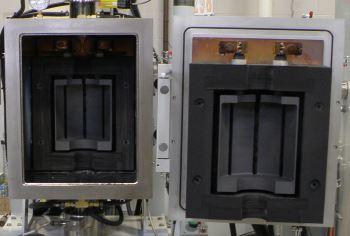 10 ton hot press graphite zone