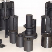 Graphite Hot zone parts