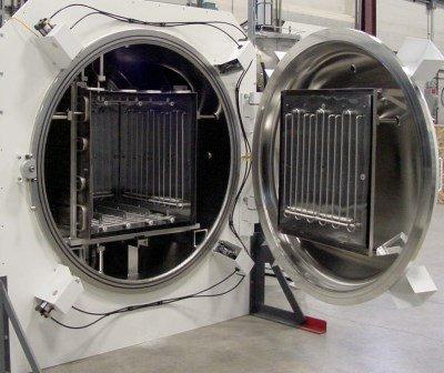 extra large heat treat chamber
