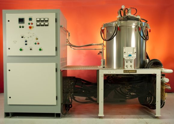 Model T-20 top loading furnace