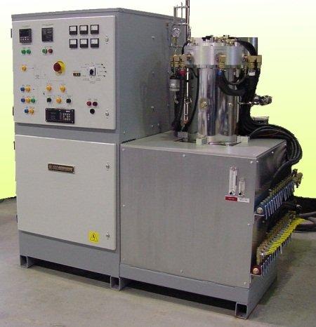Model T-8 Top loading furnace