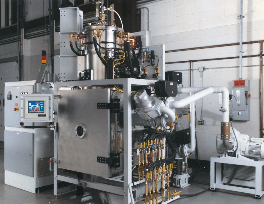 Bottom loading sintering furnace GA