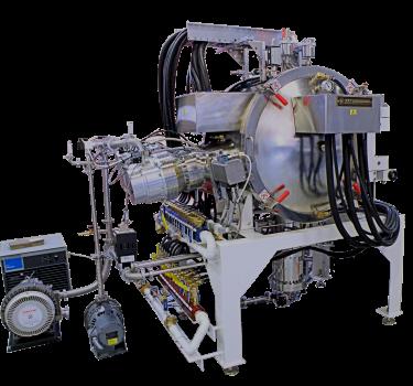 Cryogenic and turbo system vacuum furnace