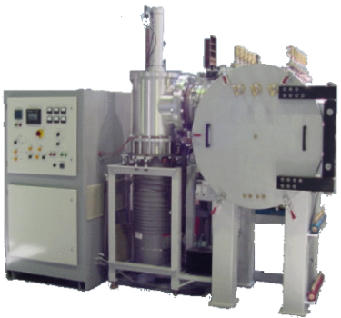 vacuum furnace with diffusion pumping system