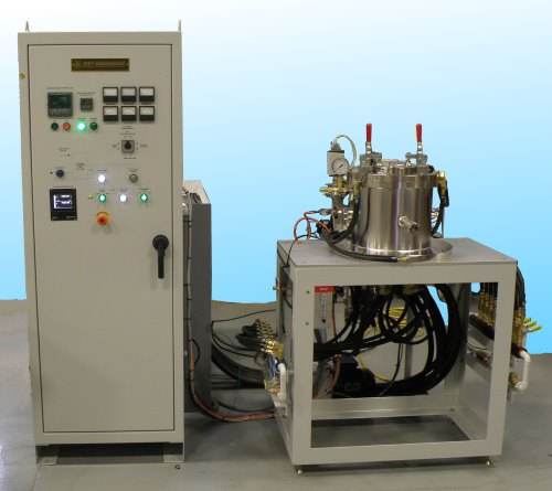 vacuum furnace with turbo pumping system